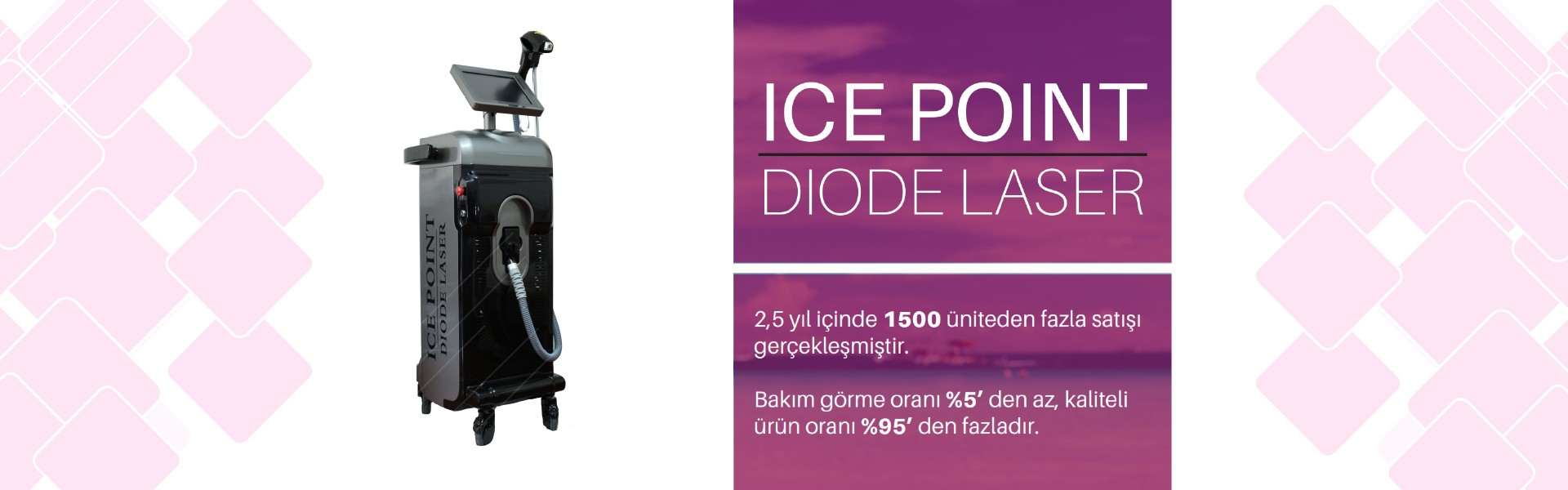 Icepoint Diode Lazer