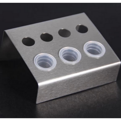 Stainless steel Ink cups Holder 7 Holes